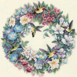 Весенний венок - Classic Design - набор вышивки крестом