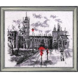 Набор для вышивки бисером - Butterfly - №343 Лондон (по картине О. Дарчук)