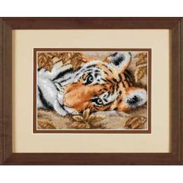Набор для вышивки крестом - Dimensions - 65056 Притягательный тигр