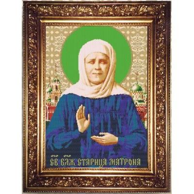 Набор для бисероплетения «Святая Блаженная Старица Матрона», иконы, Арт Соло