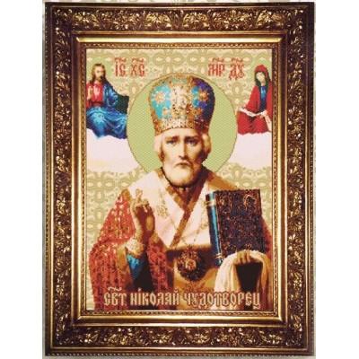 Набор для бисероплетения «Святой Николай Чудотворец»