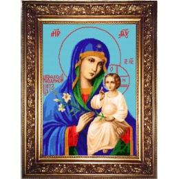 Набор для бисероплетения «Образ Пресвятой Богородицы Неувядаемый Цвет»