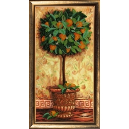 Апельсиновое дерево - Butterfly - набор для вышивки бисером