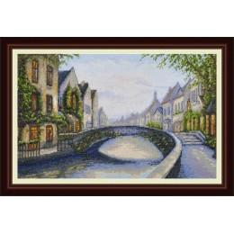 Бельгийский город - OLanTA - набор вышивки крестом
