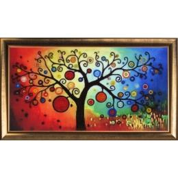 Набор для вышивки бисером - Butterfly - Дерево богатства №367
