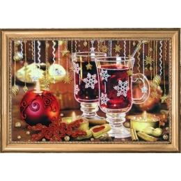 Рождественский чай - Butterfly - набор для вышивки бисером