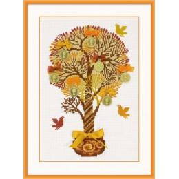 Набор для вышивки крестом - РИОЛИС - 1294 Денежное дерево