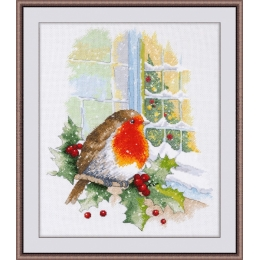 Набор для вышивки крестом - ОВЕН - 967 В преддверии Рождества