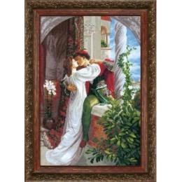 Набор для вышивки крестом - Crystal Art - Ромео и Джульетта
