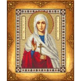 Икона Св. Евгения - Русская искусница - вышивка бисером икон