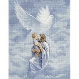 Набор для вышивки крестом - Classic Design - 4391 Голубь мира