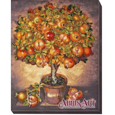 Набор для вышивки бисером - Абрис Арт - Гранатовое дерево АВ-475