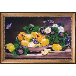 Лимоны и айва - Butterfly - набор для вышивки бисером