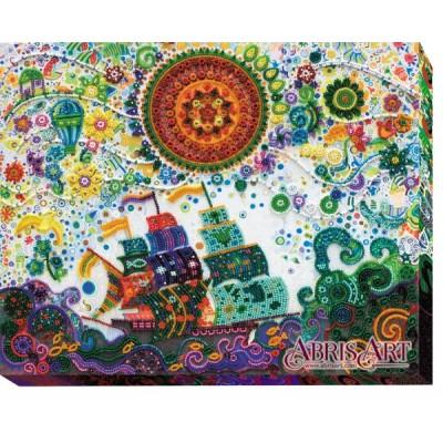 Набор для вышивки бисером - Абрис Арт - АВ-492 Путь к мечте