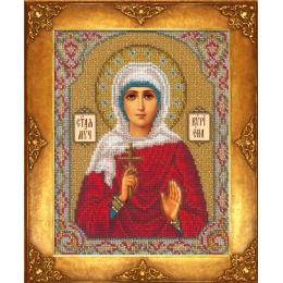 Икона Св. Кириена (Карина) - Русская искусница - вышивка бисером икон