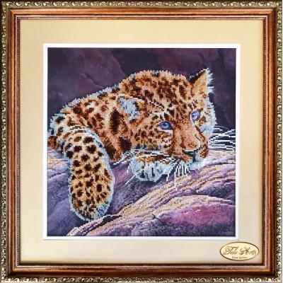 Большой кот - Тэла Артис - набор вышивки бисером