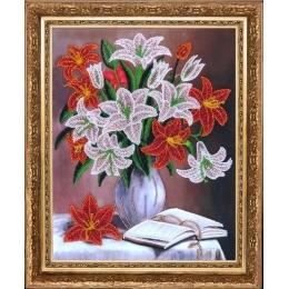 Набор для вышивки бисером - Butterfly - №278 Лилии (по картине О. Воробьевой)