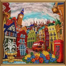 Лондон. Зазеркалье - Нова Слобода - набор вышивки бисером