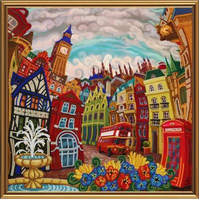 Набор вышивки бисером - Нова Слобода - Лондон. Зазеркалье