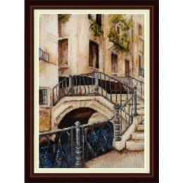 Набор для вышивки крестом - OLanTA - VN-004 Венецианский мостик