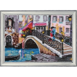 Набор для вышивки бисером - Butterfly - №362 Венецианский мостик