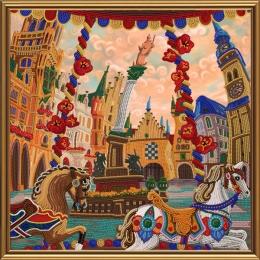 Набор для вышивки бисером - Нова Слобода - ДК1083 Мюнхен. Зазеркалье