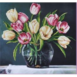 Набор для вышивки бисером - Картины бисером - Р-257 Весенний натюрморт
