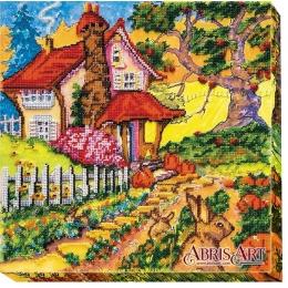 Набор для вышивки бисером - Абрис Арт - АВ-481 Сказочная осень