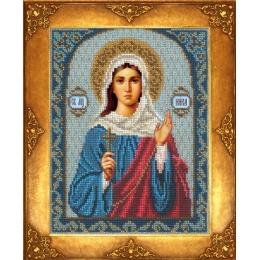 Икона Св. Ника - Русская искусница - вышивка бисером икон