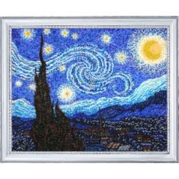 Набор для вышивки бисером - Butterfly - Звездная ночь (по картине В. Ван Гога)