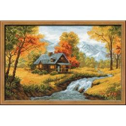 Осенний пейзаж - РИОЛИС - набор для вышивки крестом