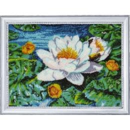 Набор для вышивки бисером - Butterfly - №279 Нимфея озерная (по картине Е. Самарской)