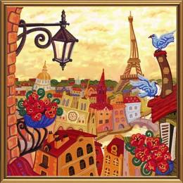 Набор для вышивки бисером - Нова Слобода - ДК1081 Париж. Зазеркалье