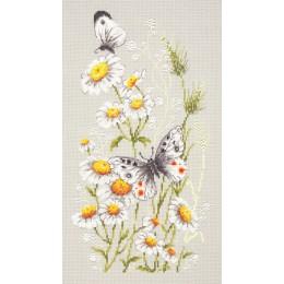 На ромашковой поляне - Чудесная игла - набор для вышивки крестом