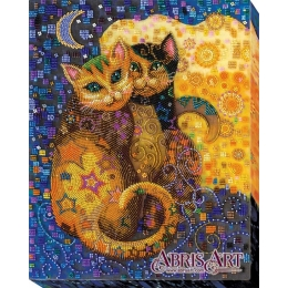 Кошачий поцелуй - Абрис Арт - набор для вышивки бисером