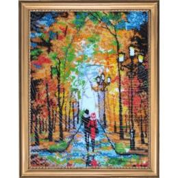 Набор для вышивки бисером - Butterfly - №482 Романтическая прогулка (по картине О. Дарчук)