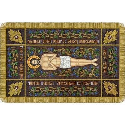 Набор для вышивки бисером - Нова Слобода - Р0012 Плащаница Христа Спасителя