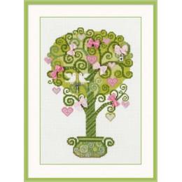 Набор для вышивки крестом - РИОЛИС - 1295 Дерево счастья