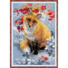 Набор для вышивки крестом - РИОЛИС - 1510 Лисичка