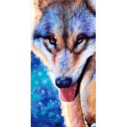 Авторский набор для вышивки бисером - Токарева А. - Сказочный волк 51-4094-НС