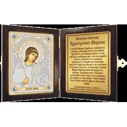 Православный складень бисером СМ7012 Архангел Михаил