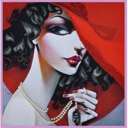 В стиле RED-4 - Картины бисером - набор для вышивки бисером