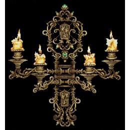 Вечер при свечах - Сделай Своими Руками - набор вышивки крестом