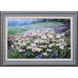 Луговые цветы - Магия канвы - набор вышивки бисером