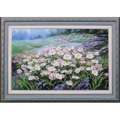 Набор для вышивки бисером - Магия канвы - Луговые цветы