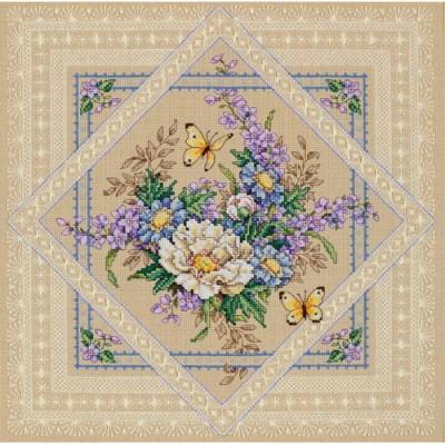 Ажурные цветы - Classic Design - набор вышивки крестом