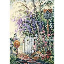 Калитка в сад - Classic Design - набор для вышивки крестом