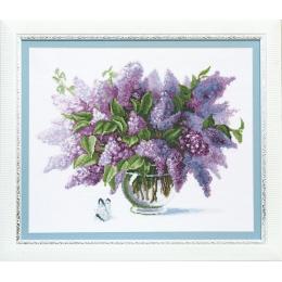 Набор для вышивки крестом - Crystal Art - ВТ-115 Сирень в цвету
