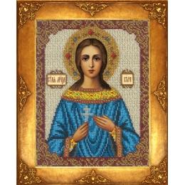 Икона Св. Вера - Русская искусница - вышивка бисером икон