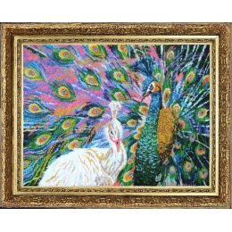 Набор для вышивки бисером - Butterfly - №525 Я за тобой, как за стеной (по картине Е. Самарской)